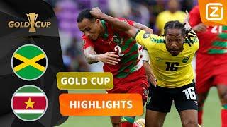 EERSTE GOLD CUP-DUEL OOIT VAN SURINAME🙌  Jamaica vs Suriname   CONCACAF Gold Cup 2021