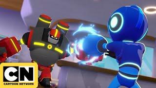 Mega Man: Fully Charged   Mega Man vs Guts Man   Cartoon Network