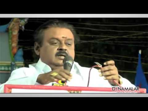 vijayakanth recent funny speech