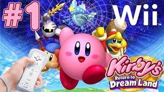 닌텐도 위 - 별의 커비 해보았어요! nintendo wii kirbi's return to dream land