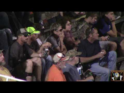 Macon Speedway ALL STAR Circuit of Champions Sprint car series Feature 6 10 2017