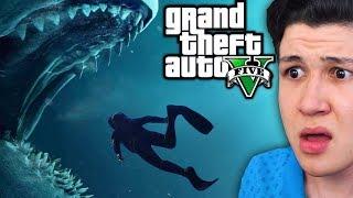 Esto Encontré en el Fondo del Mar GTA 5... Grand Theft Auto V - GTA V Mods