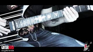 Gitarre lernen: Avenged Sevenfold - Nightmare Part 2  (HD Guitarnerd)