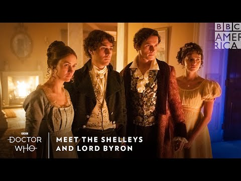 Meet Mary Shelley and Lord Byron | Doctor Who | Sundays at 8pm | BBC America