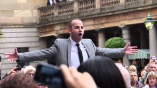 Covent Garden flashmob -