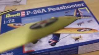 Revell Boeing P-26A Peashooter Final Update