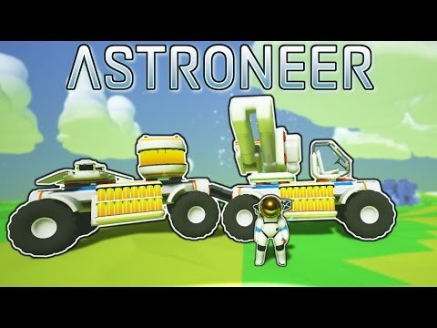 Truck and Crane! - Astroneer [Ep.2] - Early Access Gameplay