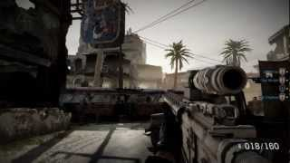 Medal of Honor Warfighter GTX 580 3GB ULTRA Gameplay