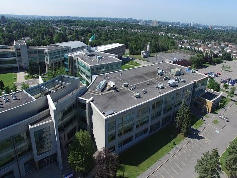 La Cité, campus Ottawa - drone DJI Phantom 3 Professional 4K