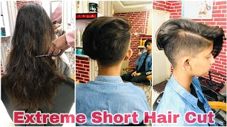 Hair cut transformation 2020/ long to very short Hair cut/Tutorial//step by step/Avinashhaircare
