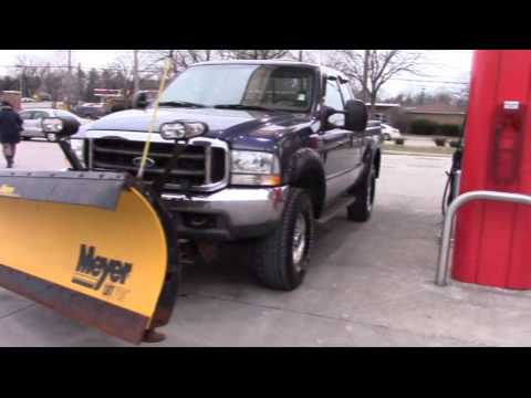 Buying a Ford F250 Used Truck with Meyer Lot Pro Snow Plow