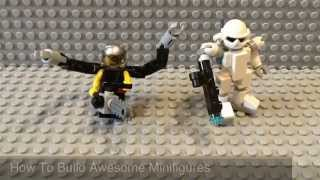 How To Build Awesome LEGO Minifigures