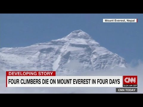 Four die on Mt. Everest