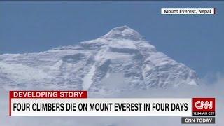 Four die on Mt. Everest