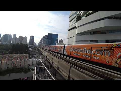 Bangkok Thailand 2017 | Sony Action Cam FDR-X3000 4K VIDEO