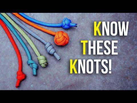 6 Single Strand Stopper Knots You Should Know!