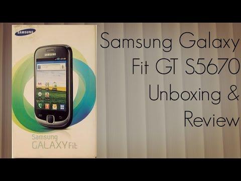 Samsung Galaxy Fit GT S5670 Unboxing & Review - PhoneRadar