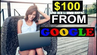 HOW TO MAKE $100 A DAY FROM GOOGLE 2018! (SIMPLE!)