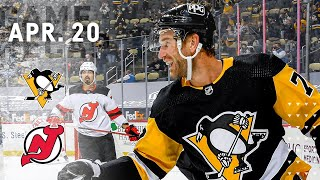 Game Recap: Penguins vs. Devils (04.20.21) | Jeff Carter Scores His First with Pittsburgh