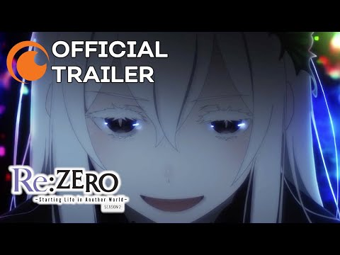 Re:ZERO -Starting Life in Another World- Season 2   OFFICIAL TRAILER 2