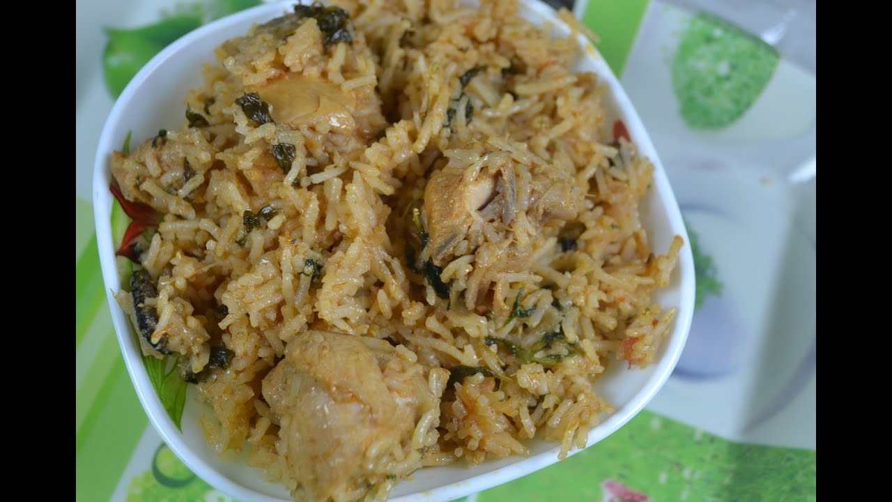 How to prepare ambur chicken biryani home style recipes for Chicken biryani at home