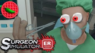VIRTUAL TRANSPLANT TERROR -- Let's Play Surgeon Simulator: Experience Reality (HTC Vive VR Gameplay)