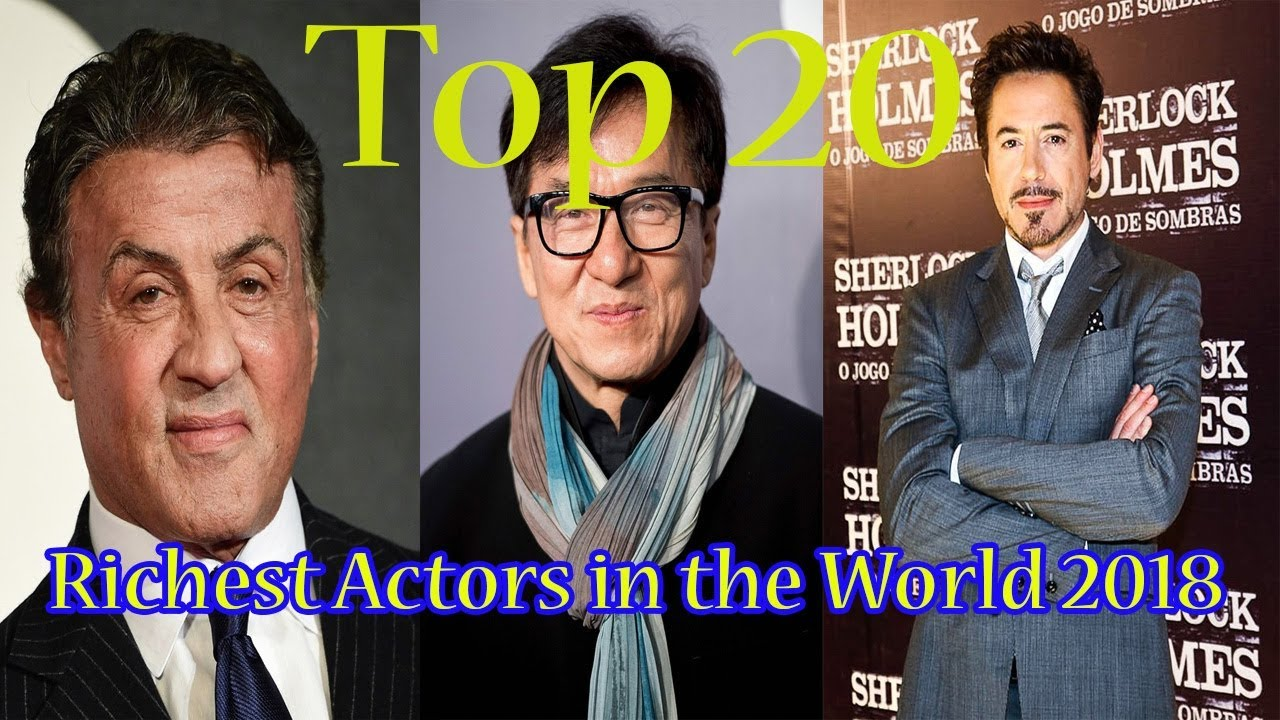 The20 Richest Actors ofModern Times, Some ofWhich Turned Out toBeDark Horses