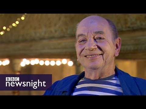 Meet Lindsay Kemp: David Bowie's muse and lover - BBC Newsnight