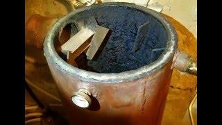 Печь бубафоня из газовых баллонов с водяной рубашкой Ч.2.Розжиг и работа регулятора RT 3.