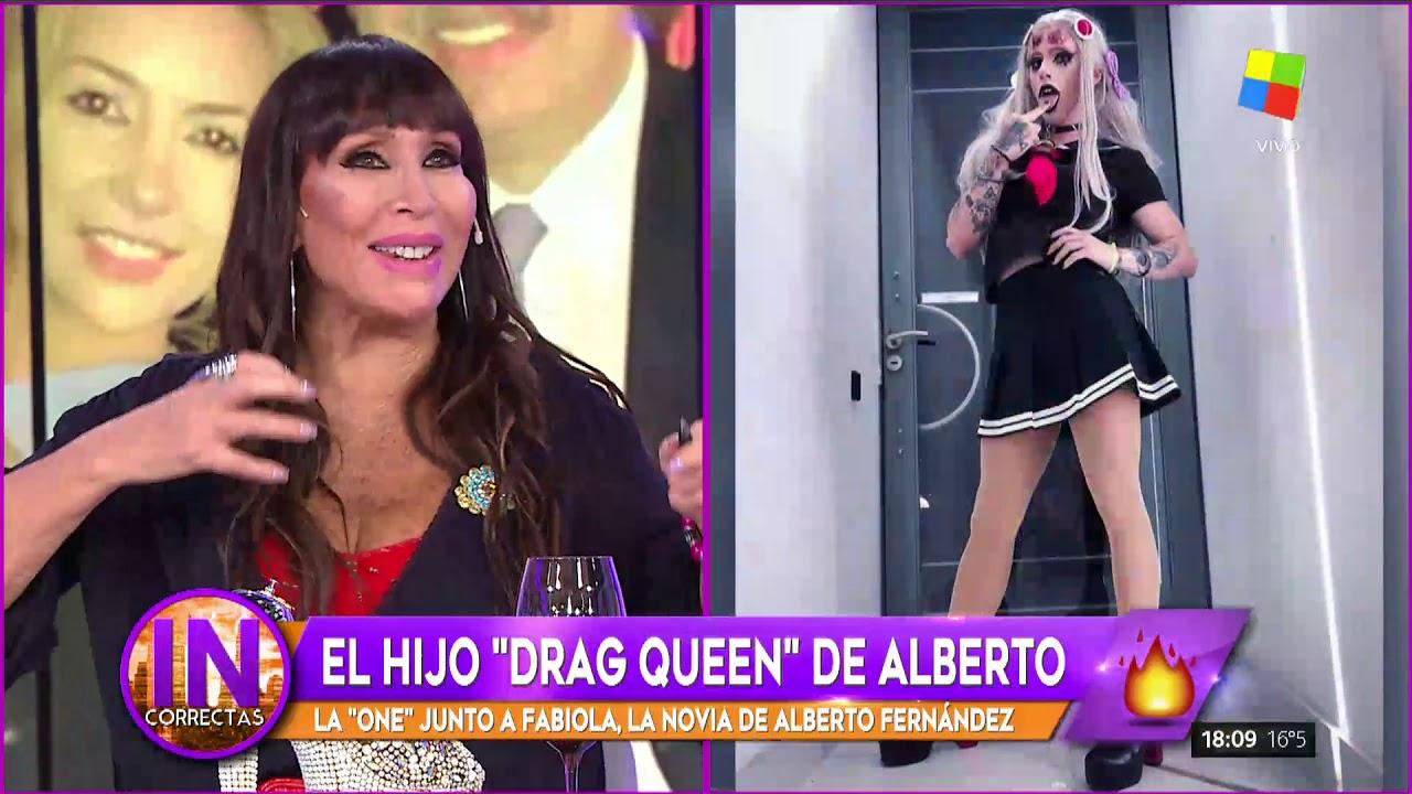 El Hijo Drag Queen De Alberto Fernández Youtube