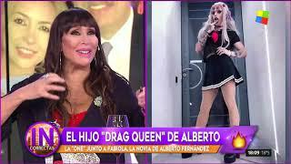 """El Hijo """"drag Queen"""" De Alberto Fernández"""