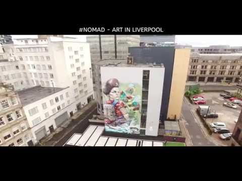 #NOMADCLAN ART LIVERPOOL - Filmed for Liverpool Pilots YouTube Channel.