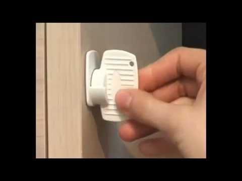Bloque Magnétique MAGLOCK De BABY DAN YouTube - Porte placard coulissante jumelé avec serrure pollux