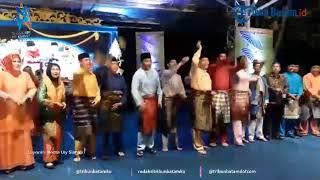 Rudi dan Amsakar Ikut Joget dan Nyanyi Tanjung Katung, Semarakan Kenduri Seni Melayu