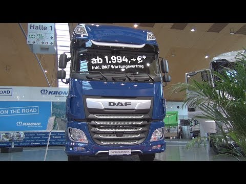 DAF XF 480 FAN Super Space Cab Chassis Truck (2020) Exterior and Interior