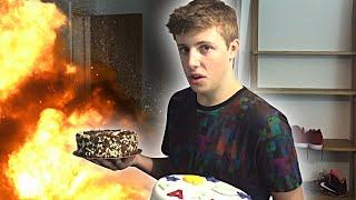 BIRTHDAY CAKE PRANK!! Thumbnail