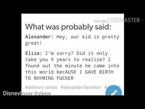 Reading Tumblr's Incorrect Hamilton Quotes