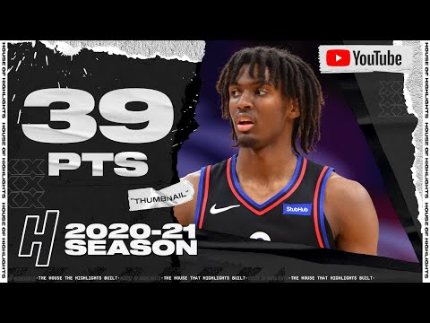 [Highlight] Tyrese Maxey drops 39 points 7 rebounds and 6 assists in 1st career start vs Denver Nuggets