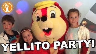 Jackie VLOG #2 - Yellito party! | Team4Animation