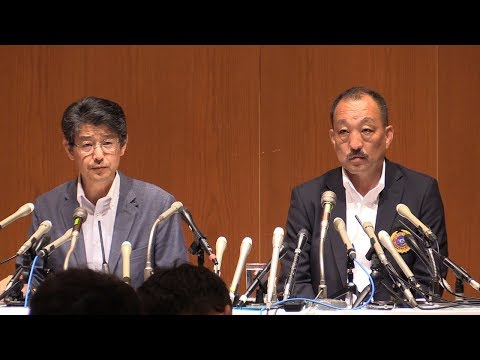関学大アメフト部が会見 日大選手の悪質タックル問題