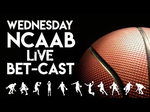 NCAA Basketball Betcast | Wednesday Night College Hoops Betting Picks