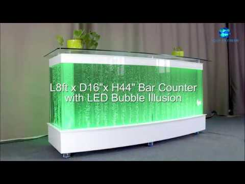 Portable Bar Counter For Event 6ft X 4ftH