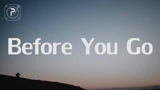 Download Lewis Capaldi - Before You Go (Lyrics)