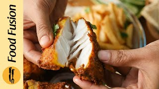Spicy Fried Fish Platter with Chutney Recipe By Food Fusion