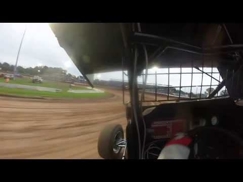 Perricone Qualifying Lernerville Speedway World of Outlaws