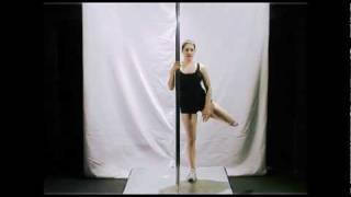 The Gemini / Scorpio - Learn Pole Dancing Moves (Intermediate)