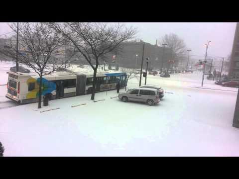 La météo de la ville de montréal