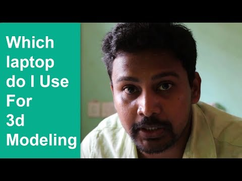 Which Laptop Nalin Jena Use For 3d Modeling