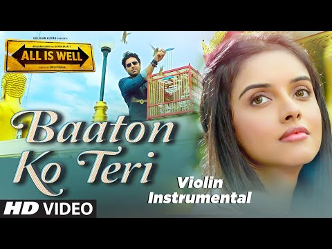 'Baaton Ko Teri' VIDEO Song  (violin) Instrumental | All Is Well | NANDU HONAP