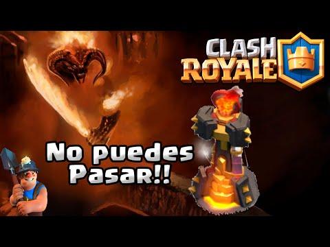NUEVO MAZO de MINERO con INFIERNO INFRANQUEABLE!! El COUNTER del GIGANTE!! | Clash Royale[WithZack]